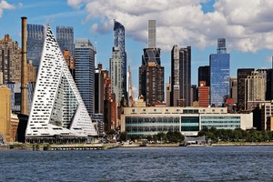 "Wohnhochhaus ""VIA 57 West"" in New York, gewinnt den IHP 2016 <br />(Architekten: BIG – Bjarke Ingels Group)"