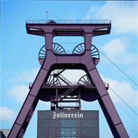 symbolhaft: Zeche Zollverein