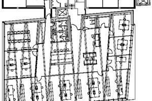 Grundriss 3. Obergeschoss, M 1:333 <sup>1</sup>/3