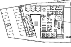 Grundriss Gartengeschoss , M 1:500
