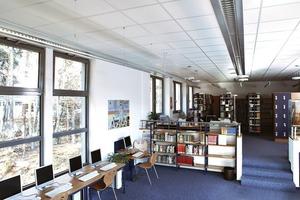 Bibliothek Heinrich-Heine Gymnasium, Kaiserslautern: Räume wie Klassenzimmer, Seminarräume und Hörsäle gehören zur Raumgruppe A