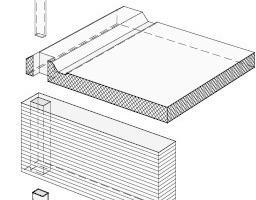 Abb. 5: Axonometrie Bausystem