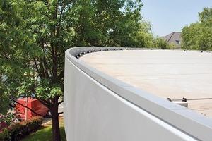 Mehrteilige Dachrandprofile ermöglichen eine schadensfreie thermische Dehnung