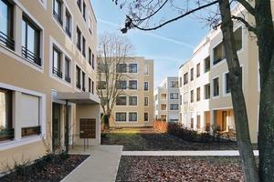 Alle Wohnungen sind barrierefrei geplant