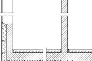 Fassadendetail, M 1:40