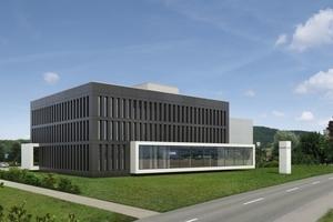 Visualisierung des neuen Verwaltungssitz von Stiebel Eltron
