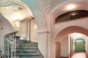 Das Gewölbe der Eingangshalle Im Hallenhaus in Görlitz<br />