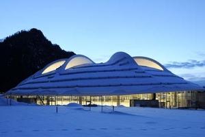 """Eisschnelllaufhalle """"Max Aicher Arena"""" in Inzell ist das """"World Sports Building of The Year 2011"""""""
