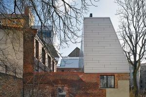 Die beiden großen Maisonette-Wohnungen werden als Büro bzw. Ton-studio genutzt