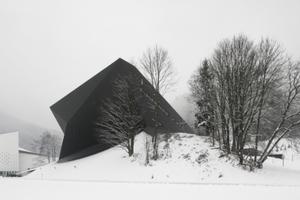 Festspielhaus Erl, Tirol. Neubau von Delugan Meissl Ass. Architekten, Wien