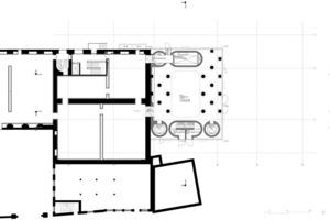 Erweiterungsbau Küppersmühle, Grundriss EG<br />