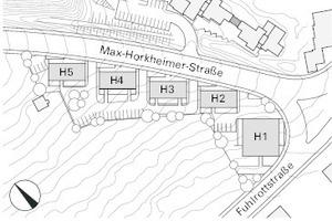 Lageplan FuhlrottstraßeWuppertal, M 1:3000