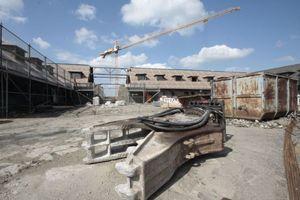 Baustelle Adlerhof: Durchbruch zu Terrasse und Kongresszentrum demnächst