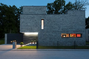 Skulpturaler Solitär – Haus W in Fürth von gropp + möller architekten aus Lüneburg