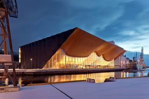Kilden Theater- und Konzerthaus, Kristiansand, Norwegen von ALA Architects Ltd.