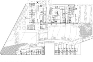 Grundriss Erdgeschoss, M 1:1750<br />