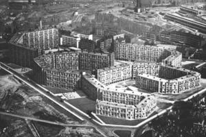 Stadtplanungsamt Sheffield, Siedlung Park Hill, Sheffield (1961)<br />
