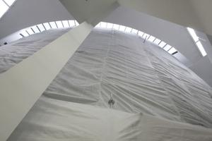 Auslöser für das Projekt Schaustelle: die Rotunde der PDM mit einem größeren Bauschaden