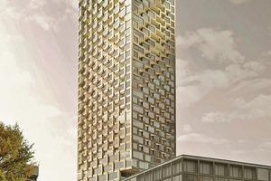 Zweiter Platz: Kleihues + Kleihues Gesellschaft von Architekten mbH, Berlin