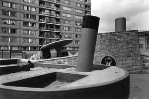 Churchill Gardens, Pimlico, London, 1956