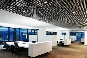 Variierende Grundrisse in den Arbeitsetagen ermöglichen abwechslungsreiche Bürolandschaften<br />
