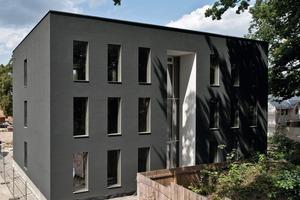 Seit Herbst 2010 wird das green:house als Experimentalbau realisiert<br />