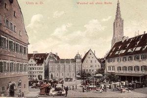 Die Platzsituation um 1900 in Ulm