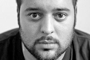 Aryan Mirfendereski, RWTH Aachen, gewann den Förderpreis für das Projekt S-O-S_Save Own Souls