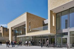 Die Mensa ist der erste Baustein des zukünftigen Campus