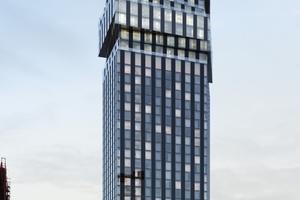 "Visual ""Spin Tower"" am Güterplatz (Hadi Teherani)"