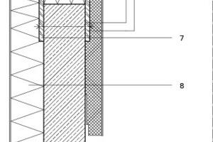 Detail Brüstungsabdeckung, M 1:12,5