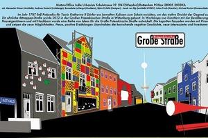 """Anerkennung: Matton Office Urbanists """"Potemkinsche Große Straße"""""""