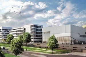 Gesundheitszentrum NRW Bochum, Architekten LÉON WOHLHAGE WERNIK, Berlin