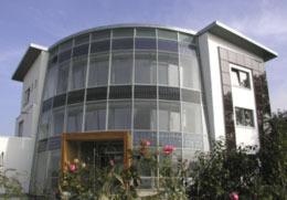 Solar-Passiv-Gebäude der Biohaus PV Handels GmbH, Paderborn