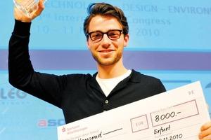 """Der Bauhaus.SOLAR AWARD 2010 geht an das Projekt """"Power-Plant"""" von Pascal Maas, FH Münster<br />"""