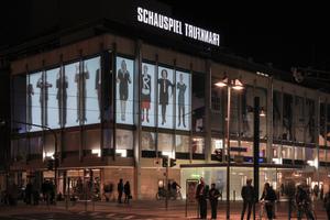 Luminale 2012: Die Außenprojektion wie du wir! am Schauspiel Frankfurt