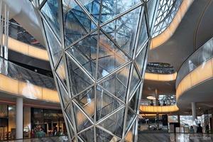 Palaisquartier Frankfurt; 2002-2008; Architekt: M. Fuksas/Rom<br />