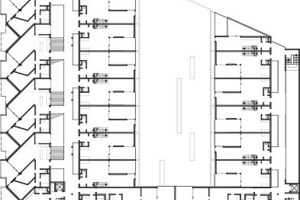 2. Obergeschoss, M 1:1000<br />