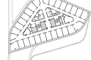 Grundriss Regelgeschoss, M 1:750<br />
