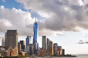 Das neue OWTC in der ebenfalls erneuerten Skyline am Hudson River