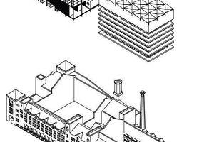 """""""Algorithm is a dancer"""" ist eine architektonische Feldforschung in diesen neuartigen Räumen des Handels. Eine fotografische Dokumentation der Räume des Finanzmarkts und des Kunsthandels bildet die räumlichen Manifestationen dieser Veränderung ab. Sie liefert die Grundlage für das veränderte Verständnis dieser Handelsräume, welches anhand einer Neucodierung der Amsterdamer Börse von Hendrick Petrus Berlage architektonisch formuliert wird. Die ehemalige Börse wird zu einer Kunstbörse umgedacht, welche sich aus drei Teilen zusammensetzt:"""