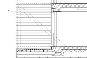 Detail Vorbau, M 1:75<br />