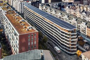 Das Grundstück im Frankfurter Gutleutviertel zwischen Main und Hauptbahnhof galt wegen seiner Abmessungen lange Zeit als unbebaubar