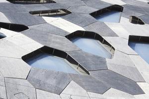 Viele Elemente des Gebäudes wurden digital gefertigt