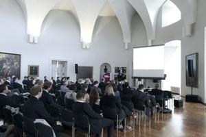 Der Kongress tagt ... im Ovalsaal der Würzburger Residenz, einem ehemaligen Operntheater