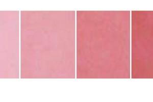 Je nach dem wie viel Pigment dem Beton beigegeben wird, können unterschiedliche Farbeffekte erzielt werden. Bei 8% (des Zementwertes) ist aber Schluss: Es tritt keine nennenswerte Farbvertiefung mehr ein<br />
