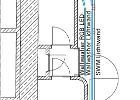 Grundriss-Ausschnitt U1, M 1:150