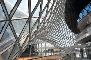 Palaisquartier Frankfurt, 2002-2008; Architekt: M. Fuksas / Rom<br />