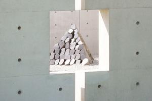 Mauerdurchbrüche ermöglichen Ein- und Ausblicke<br />