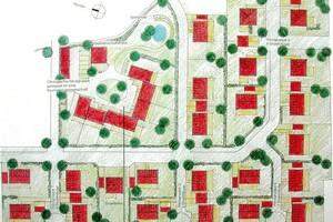 Gisela Raap: Wohnsiedlung in Holzbauweise B-Plan 086 Plauen